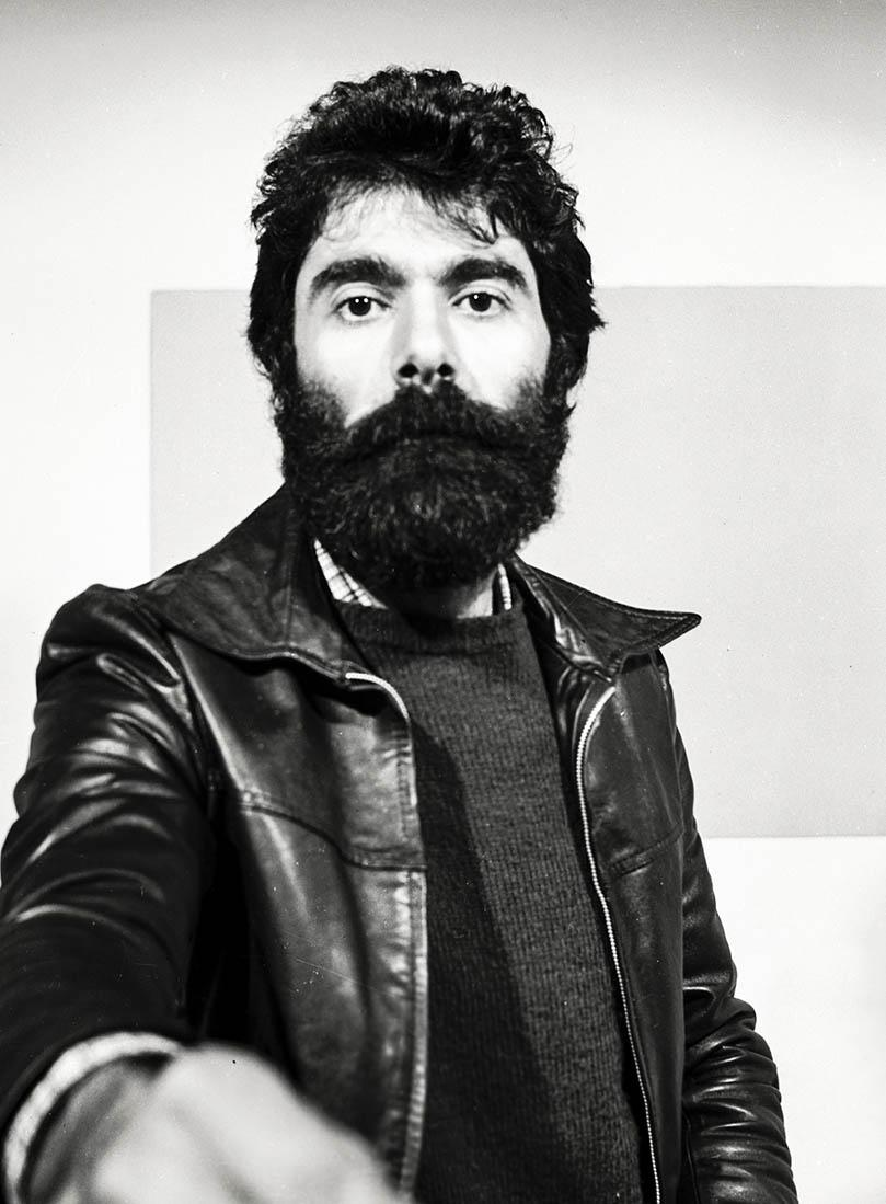 François Piras: autoportrait 1976